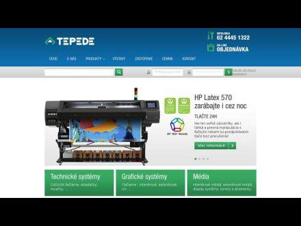 www.tepede.sk