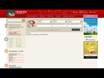 www.humanprosperity.sk