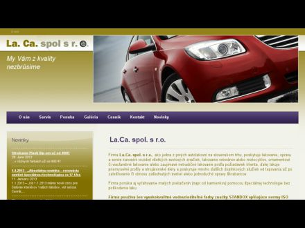 www.laca.sk