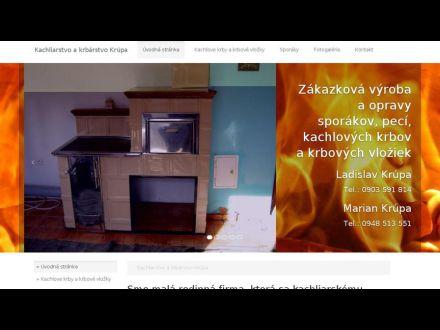 www.kachliarstvo-krupa.sk