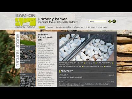 www.kam-on.sk