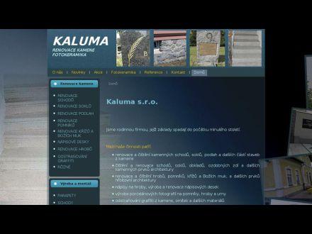 www.kaluma.cz