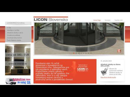 www.licon.sk