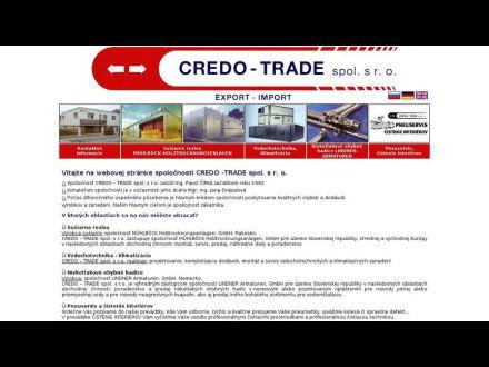 www.credotrade.sk