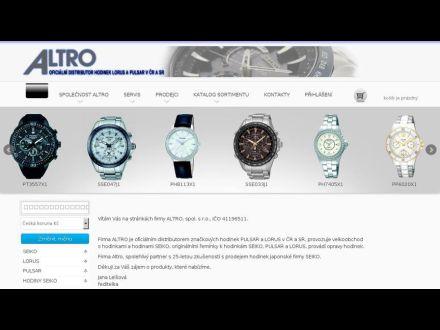 www.altro-hodinky.cz