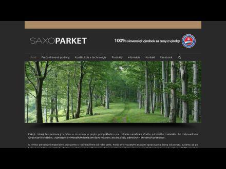 www.saxoparket.sk