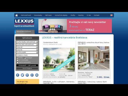 www.lexxus.sk