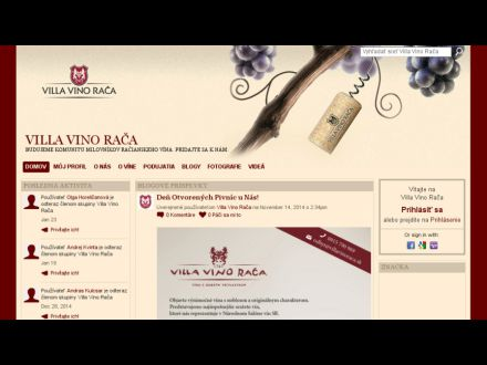www.villavinoraca.sk