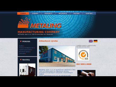 www.metaling.sk