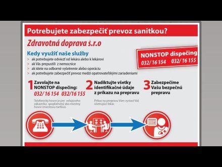 www.zdravotnadoprava.sk