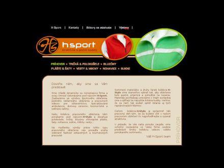 www.hsport.sk