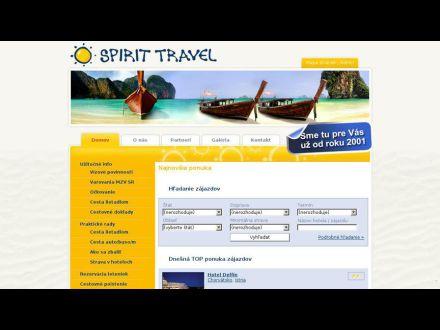 www.spirit-travel.sk