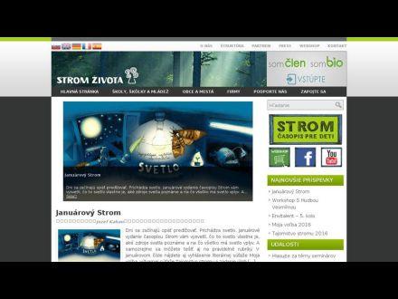 www.stromzivota.sk