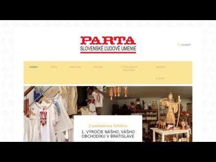 www.parta.sk