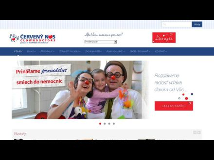 www.cervenynos.sk
