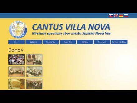 www.cantusvillanova.sk