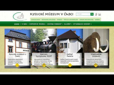 www.kysuckemuzeum.sk