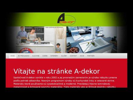 www.a-dekor.sk