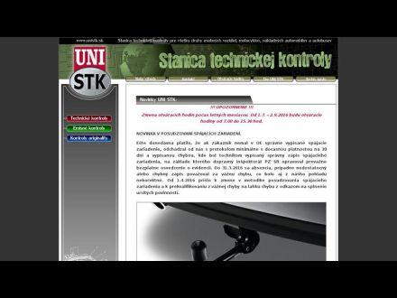 www.unistk.sk