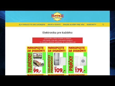 www.recall-electronics.sk