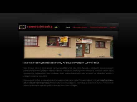 www.ramovaniesenica.sk