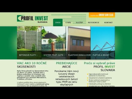www.profilinvest.sk