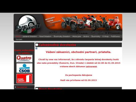 www.duefratelli.sk