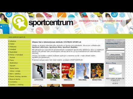 www.centrum-sport.sk