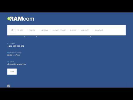 www.ramcom.sk