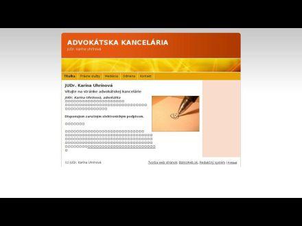 www.karinauhrinova.biznisweb.sk