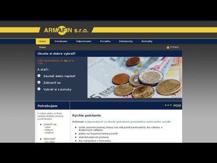 www.armafin.sk