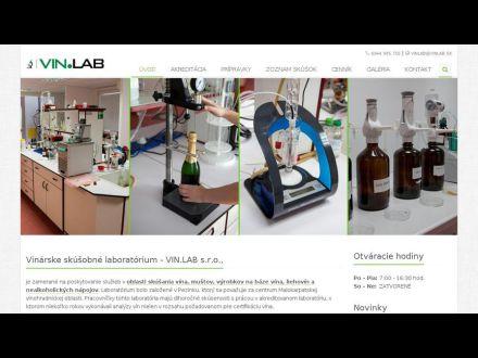 www.vinlab.sk