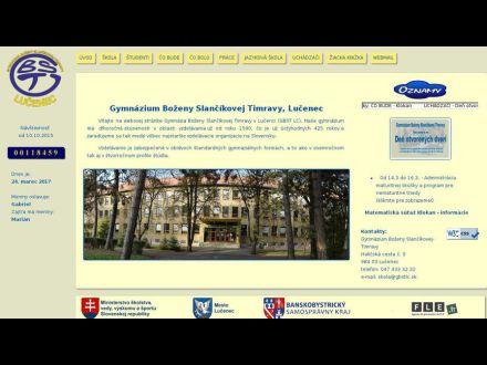 www.gbstlc.edu.sk