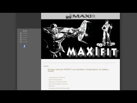 www.maxifit.sk