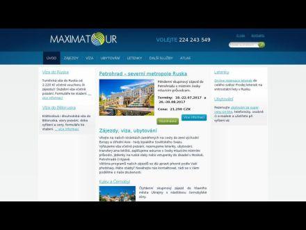 www.maximatour.cz