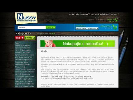www.nussy.sk