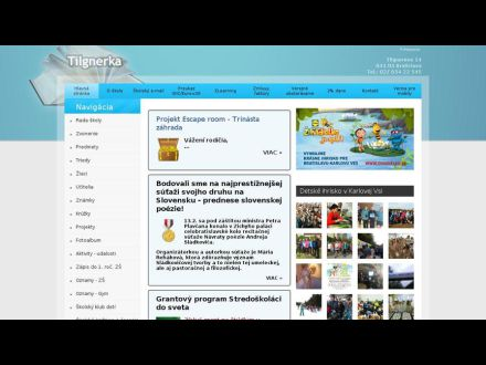 www.tilgnerka.edupage.org