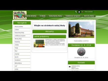 www.skolalutina.edupage.org