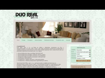 www.duoreal.sk