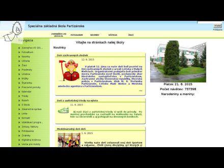 www.szspart.edupage.sk