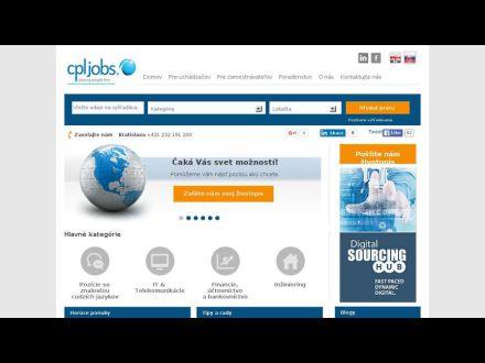 www.cpljobs.sk