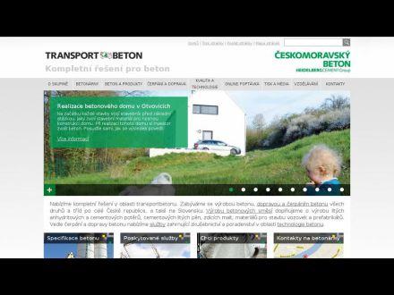 www.transportbeton.cz
