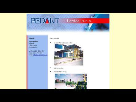www.pedantlevice.sk