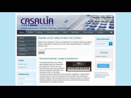 www.casallia.sk