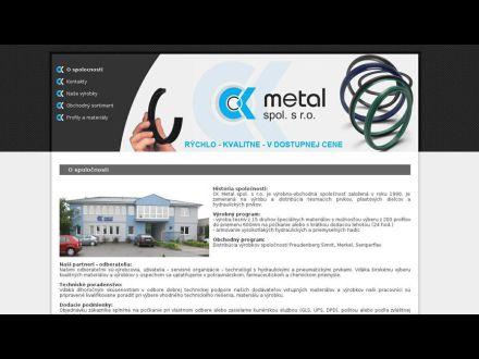 www.ckmetal.sk
