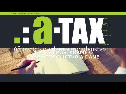 www.a-tax.sk