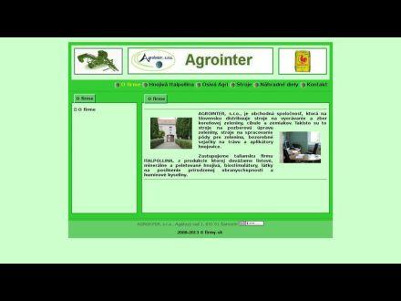 www.agrointer.sk