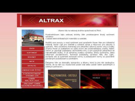 www.altrax.sk
