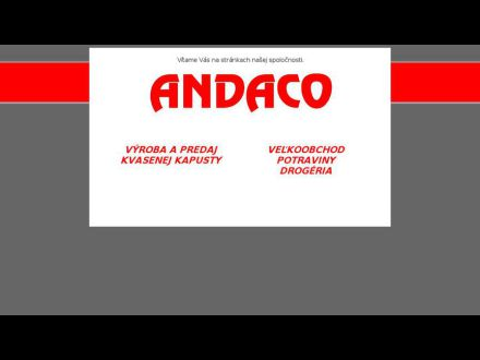 www.andaco.sk