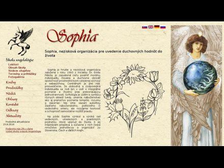 www.sophia.sk